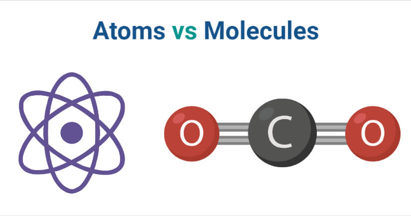 Atoms vs Molecules
