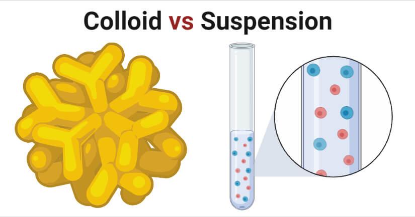 Colloid vs Suspension