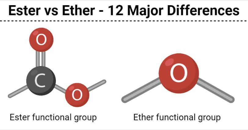 Ester vs Ether