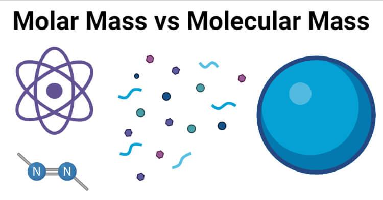Molar Mass vs Molecular Mass