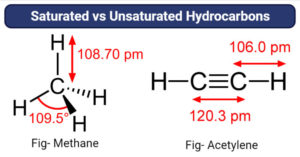 Saturated vs Unsaturated Hydrocarbons